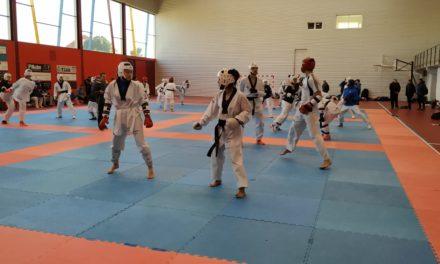 Adestramento da selección galega absoluta de combate