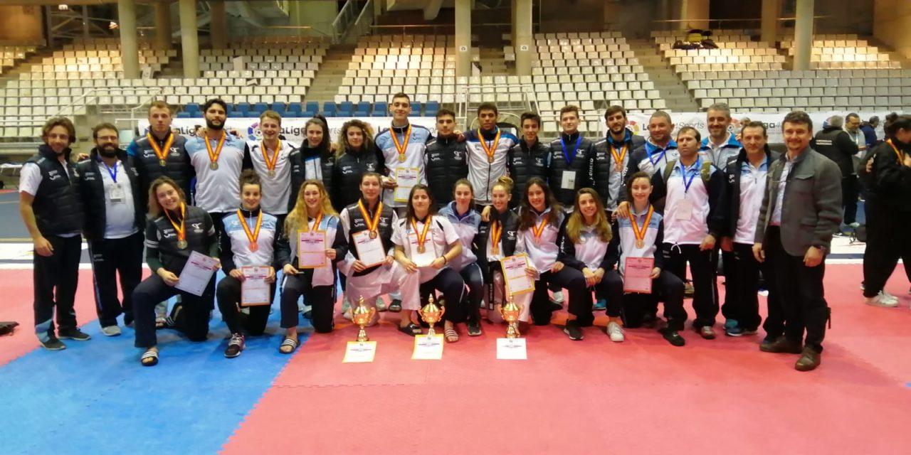 Galicia, campioa de España sénior de combate