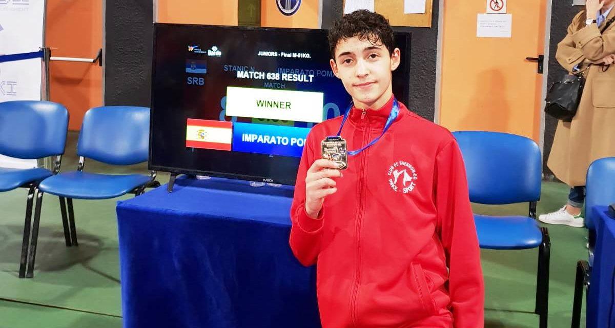 Giovanni Imparato, campión de Europa Júnior de Clubs