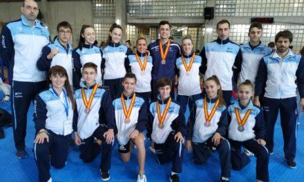 Oito medallas galegas no Campionato de España de Técnica