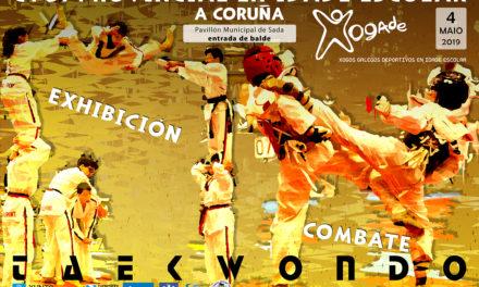 Esta fin de semana celébranse as fases provinciais de taekwondo escolar de combate e exhibición