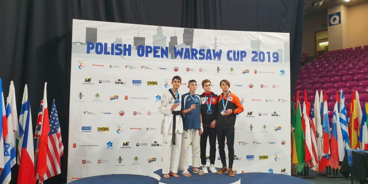 Prata para Giovanni Imparato e bronce para Iván García, no Open de Varsovia