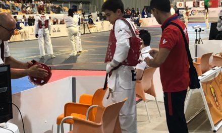Samuel Meilán caeu na segunda rolda do Europeo Cadete