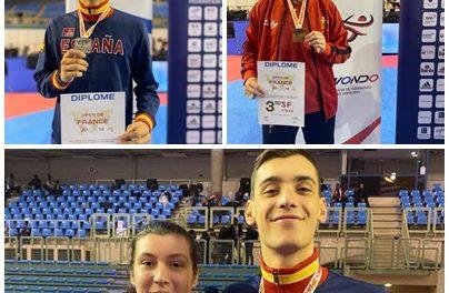 Iván García, prata e Tania Castiñeira, bronce no Open de Francia