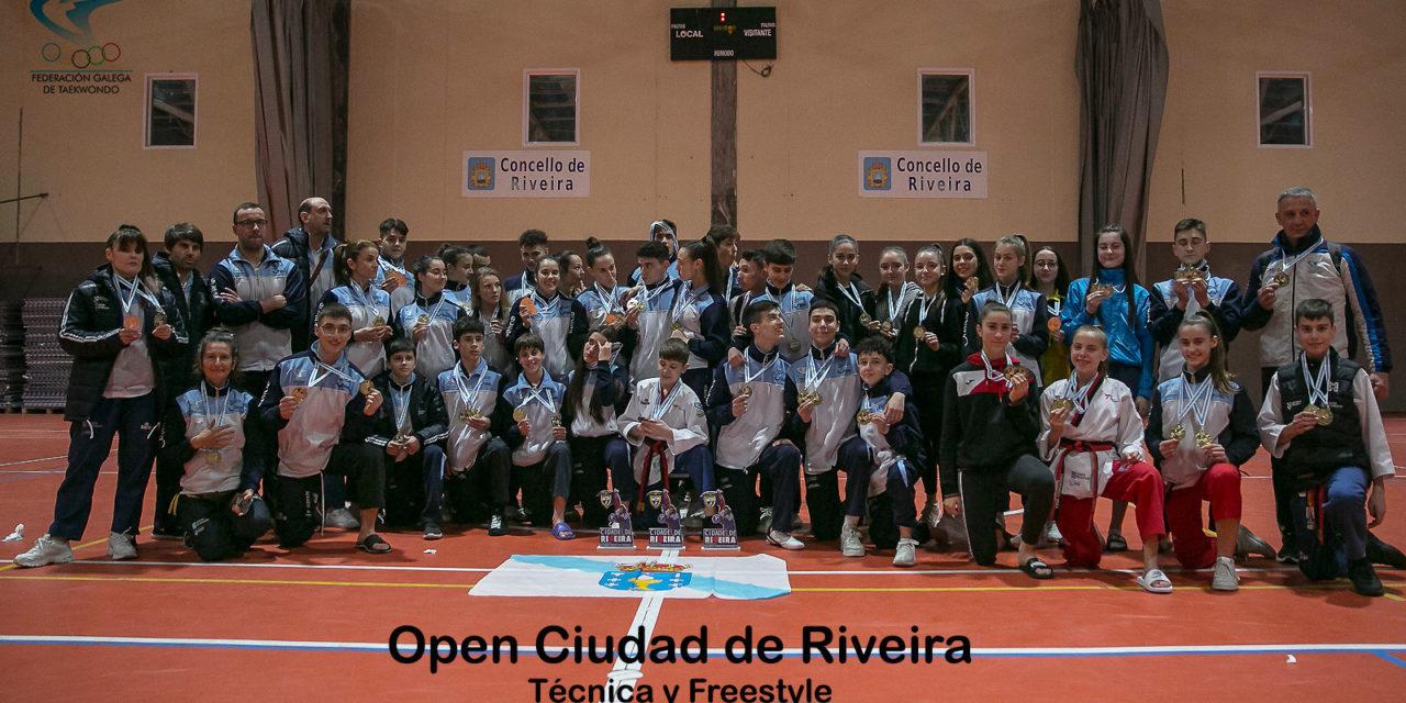 GALICIA, CAMPIONA XERAL EN TÉCNICA E FREESTYLE NO OPEN CIDADE DE RIVEIRA