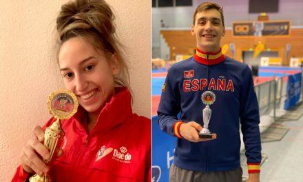 Sara Cortegoso, ouro e Iván García, prata no Open de Alemaña