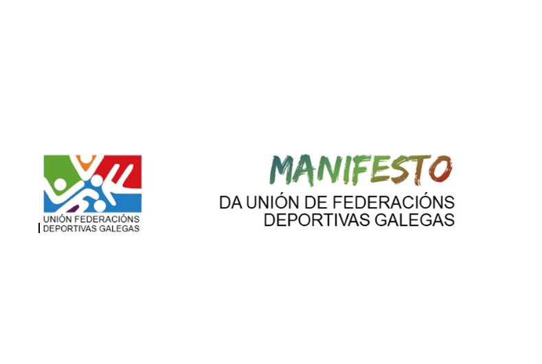 Manifesto da UFEDEGA de apoio ó deporte