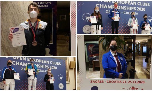 CATRO MEDALLAS GALEGAS NO CAMPIONATO DE EUROPA DE CLUBS EN CROACIA