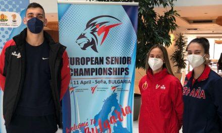 SARA CORTEGOSO, IVÁN GARCÍA E ALMA PÉREZ PARTICIPAN NO EUROPEO SÉNIOR EN SOFÍA